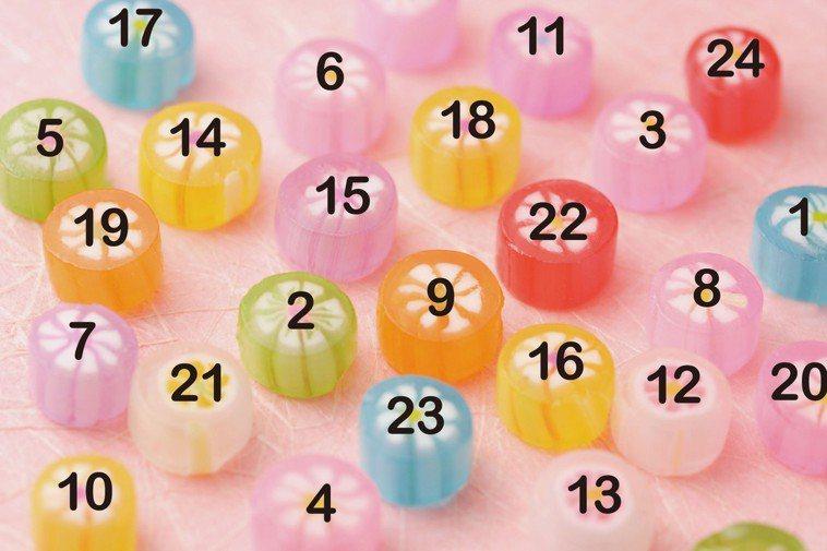 請迅速移動眼睛,依序找到數字1到24。你能在1分鐘內完成嗎? 圖摘自╱瑞麗美人國...