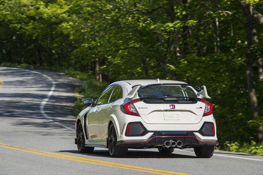 Honda Civic Type R。 Honda提供