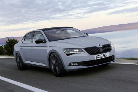Skoda Superb SportLine Plus 超值旗艦登陸英國