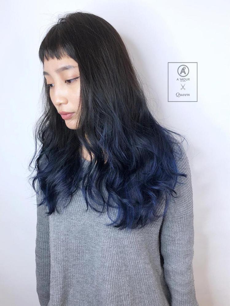 髮型創作/Queen。圖/StyleMap提供