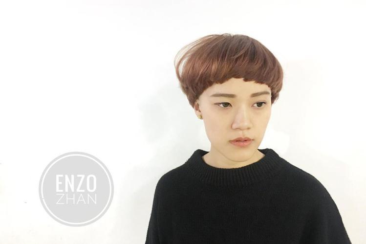 髮型創作/Enzo Zhan。圖/StyleMap提供
