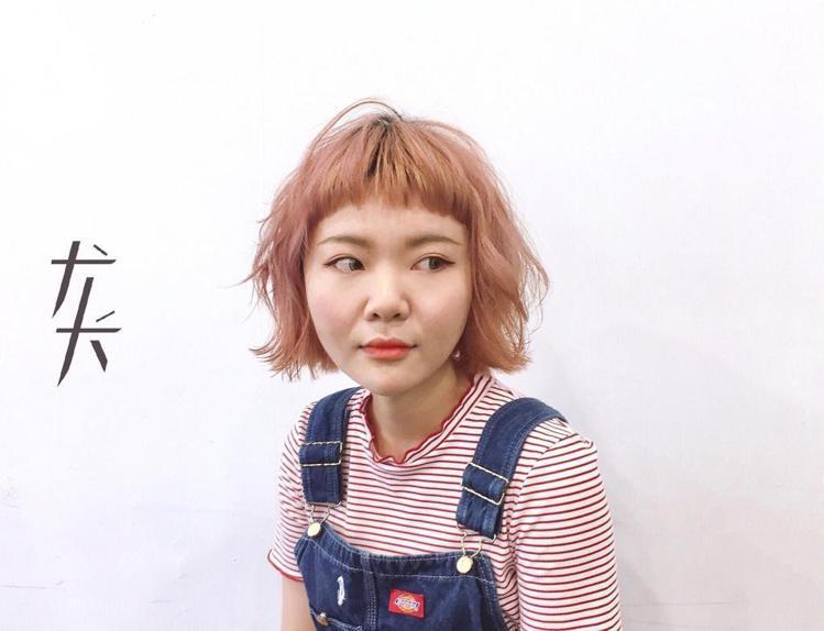 髮型創作/王豆綠。圖/StyleMap提供
