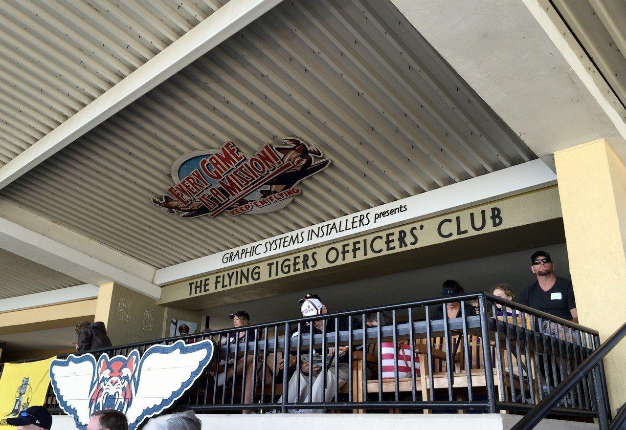 老虎隊在雷克蘭球隊是屬於小聯盟1A的「飛虎」,球場的所在地,就是飛虎隊訓練基地之...