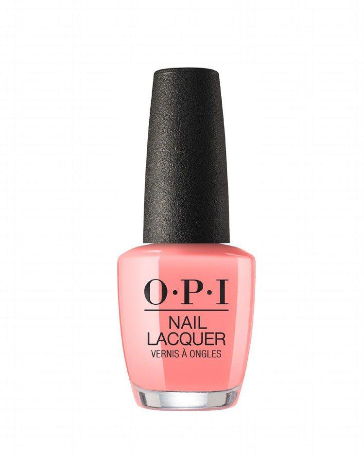OPI Lisbon Collection漫步里斯本系列#NLL17來一口葡式蛋...