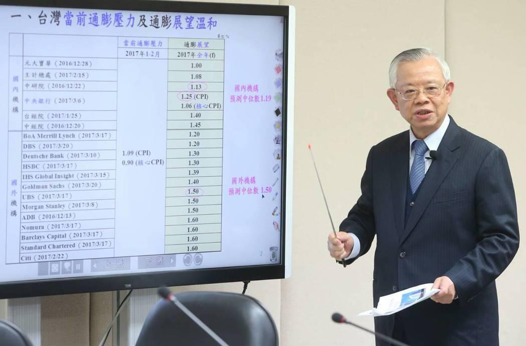 央行前任總裁彭淮南的財產申報資料中,也沒有保險。 圖/聯合報系資料照片