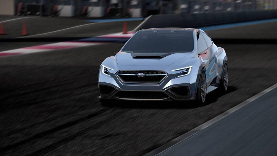 Subaru Viziv Performance concept。 摘自Suba...