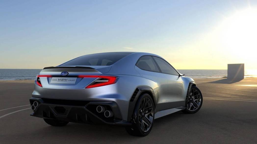Subaru Viziv Performance concept。 摘自Subaru