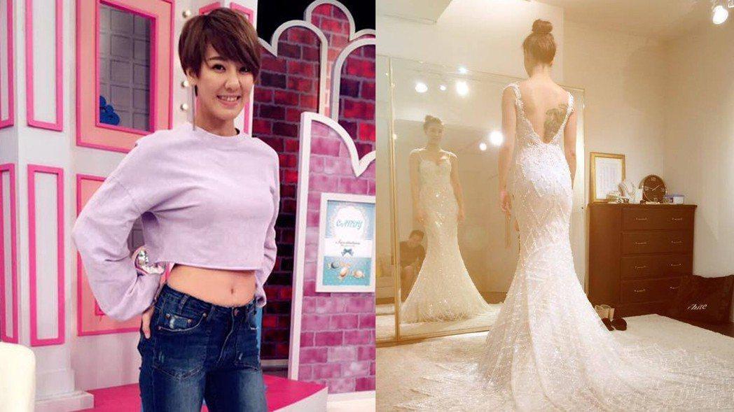 劉雨柔去年登記結婚。 圖/擷自臉書