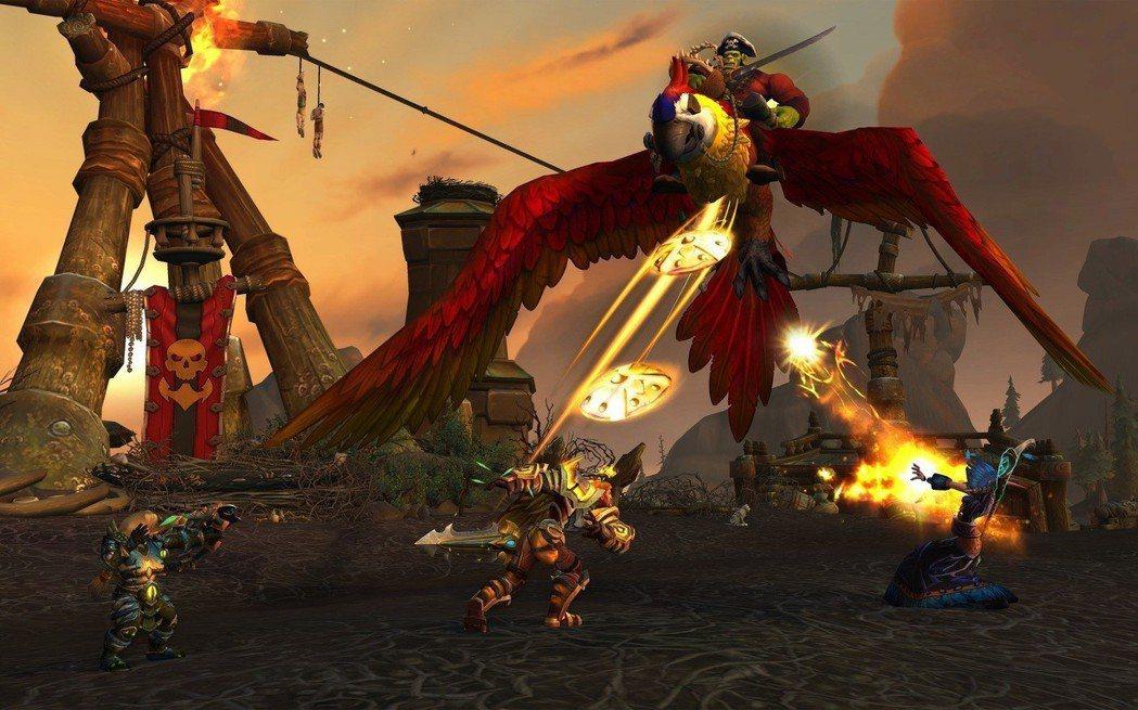 《魔獸世界 決戰艾澤拉斯》自由港遊戲畫面