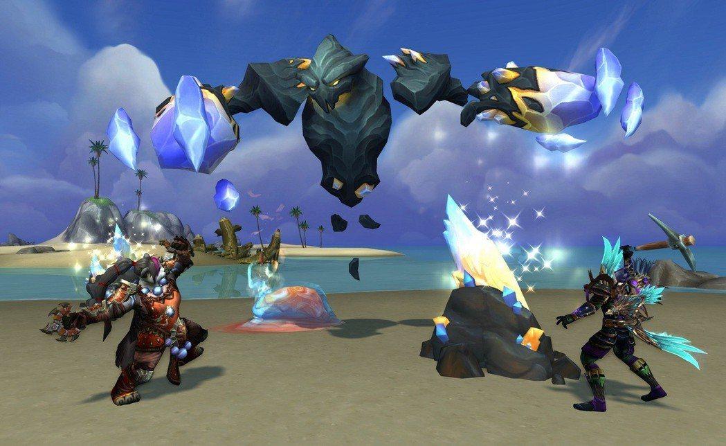 《魔獸世界 決戰艾澤拉斯》島嶼遠征遊戲畫面