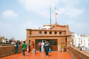 林百貨頂樓可以窺見近百年前的摩登。 (圖/王盛弘攝影)