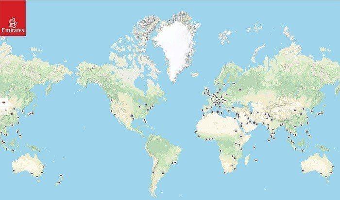 全球航線圖 官網