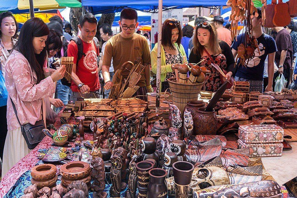 加雅市集(Gaya Sunday Market) my.trip