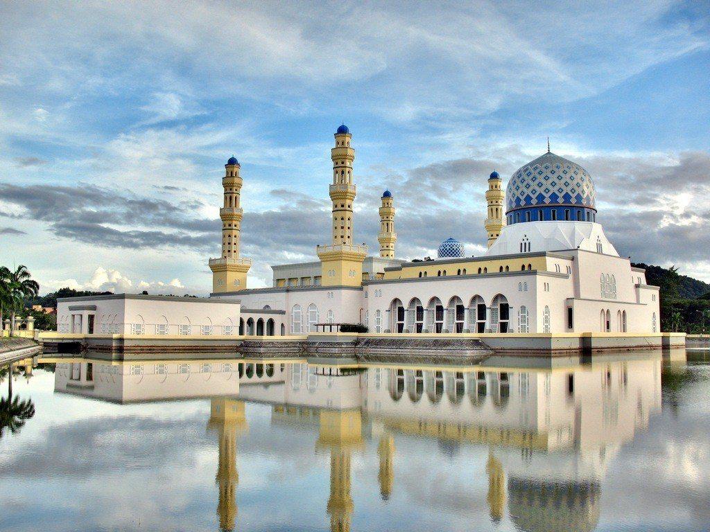 水上清真寺(Kota Kinabalu City Mosque) Sahih B...