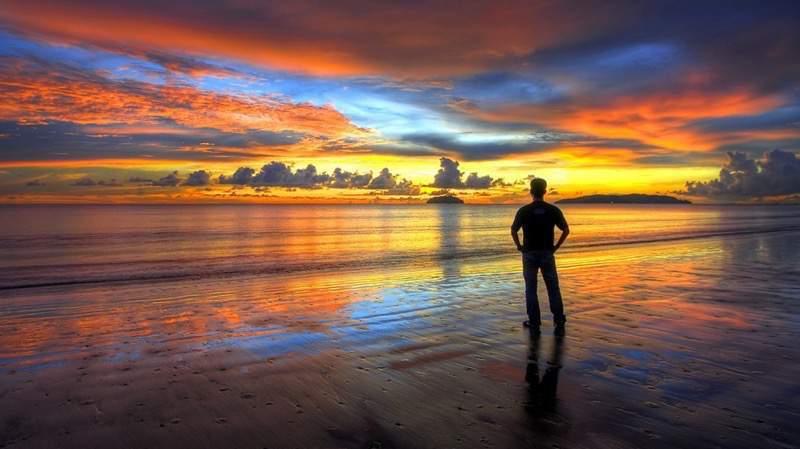 丹絨亞路海灘(Tanjung Aru) Sabah Guide