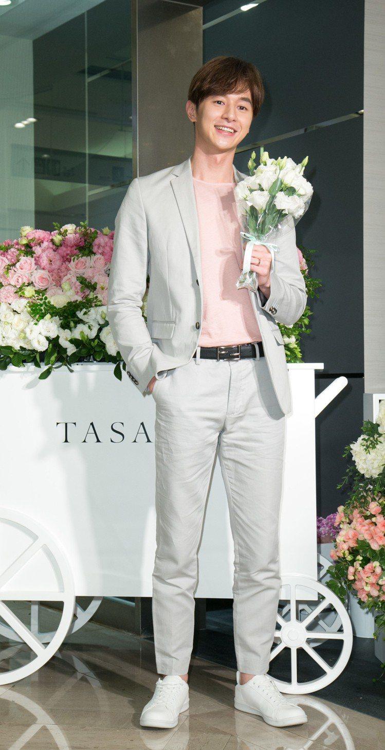 TASAKI珠寶發表,邀請張軒睿展示經典商品。圖/記者陳立凱攝影