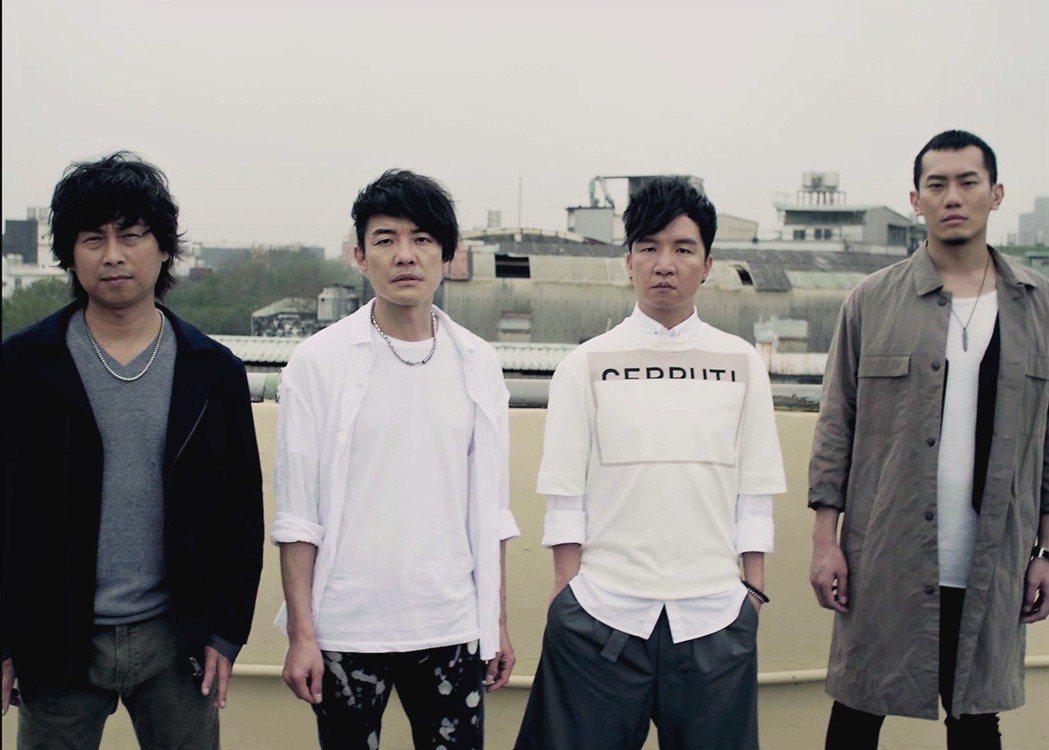 四分衛推出新歌「一鏡到底」。 圖/CROS MUSIC闊思音樂提供
