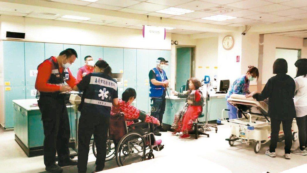 如果沒有檢傷分級制度,需要急救的病患就會錯失黃金治療時間。 聯合報系資料照 記者...