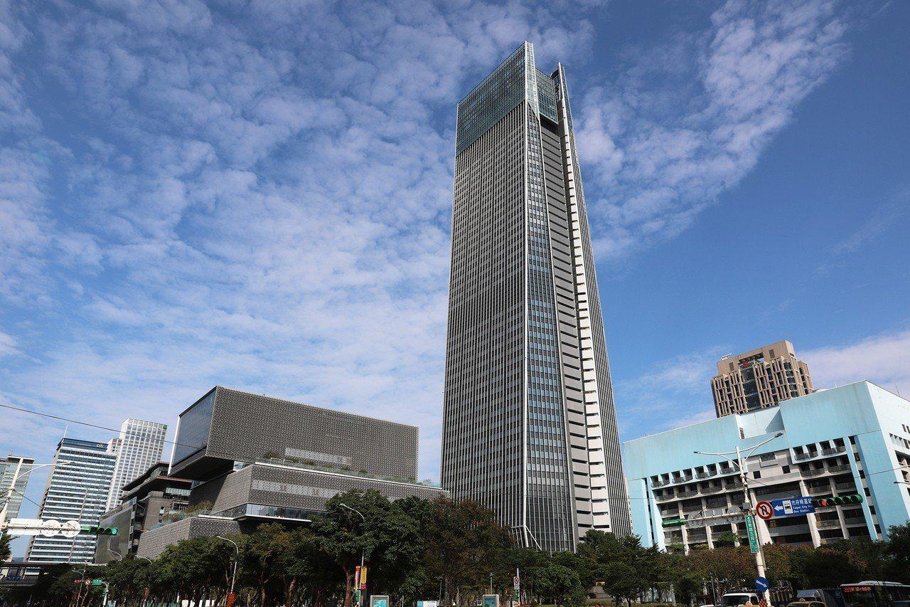 南山廣場最高租金開價調升為5,000元,創下台北辦公室史上最高記錄。 報系資料照