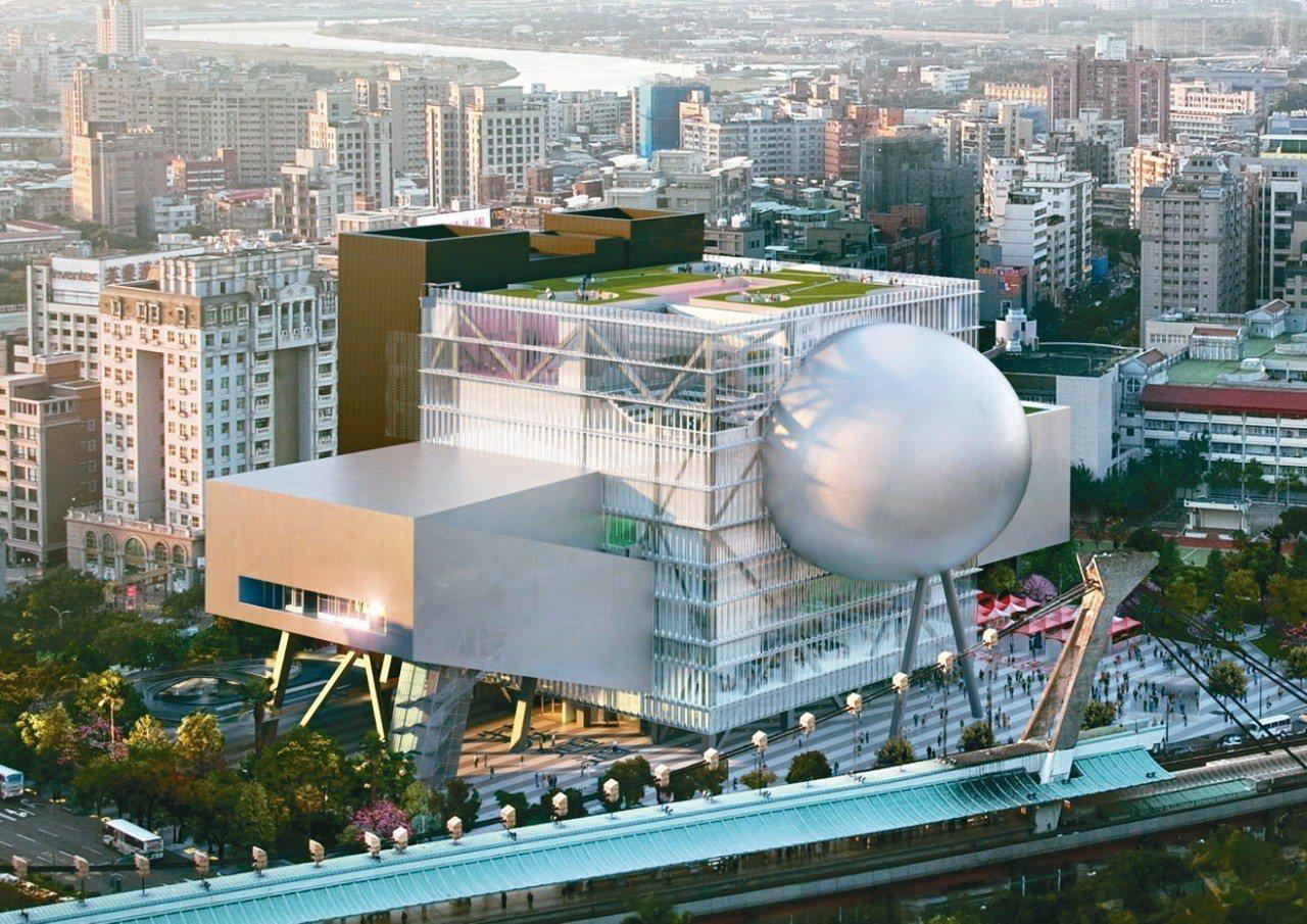 台北表演藝術中心完工模擬圖。 圖/北藝中心提供