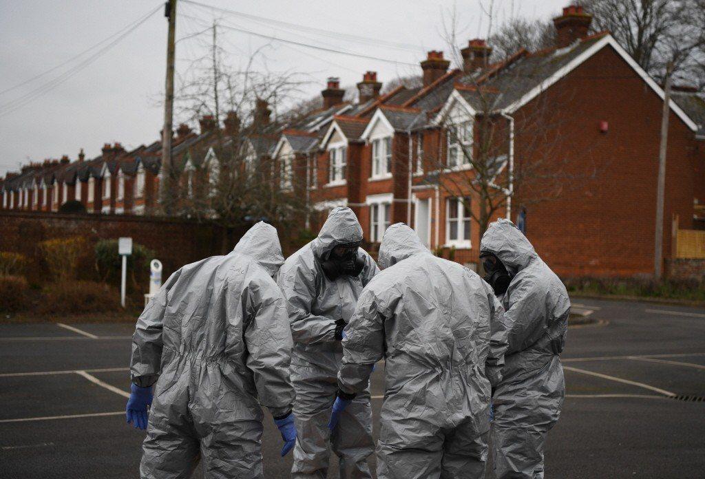 在收集了里帕和他女兒身上的神經毒劑樣本後,「禁止化學武器組織」已成立專案小組著手進行試驗。 圖/歐新社