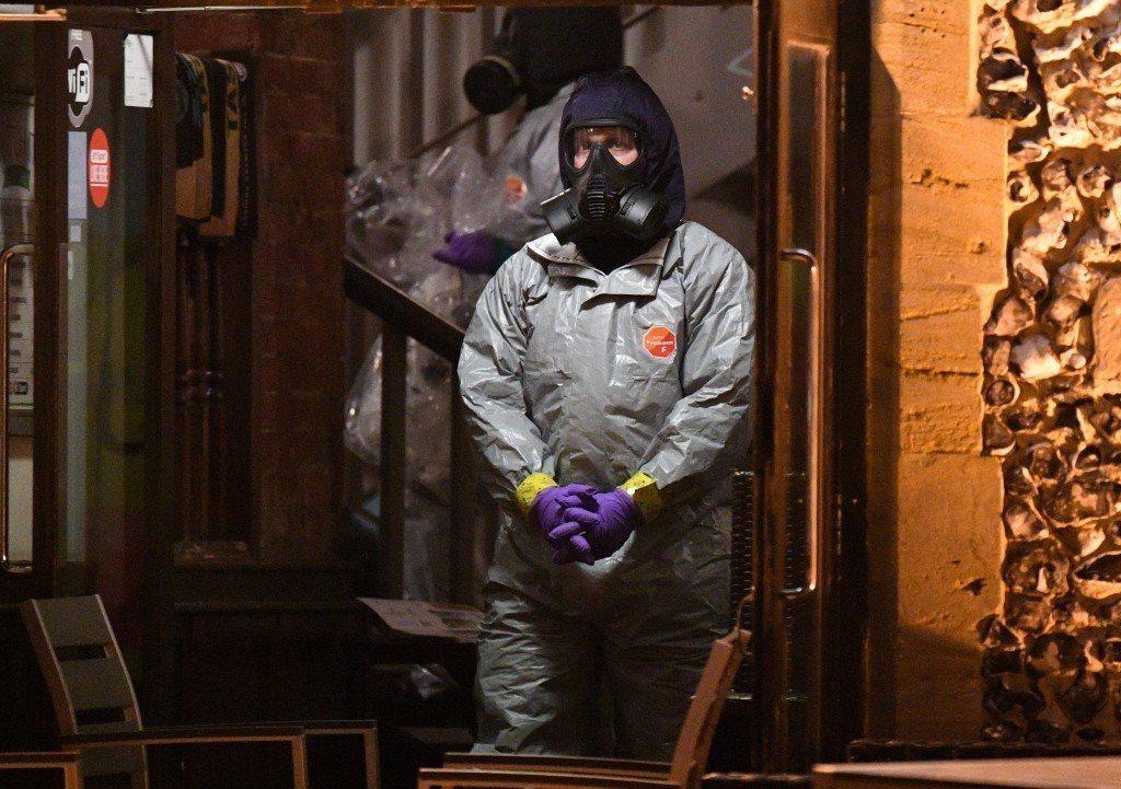 英方認為,使用與俄國脫不了干係的諾維喬克神經毒劑已經構成了「非法使用武力」,而要求依1993年生效的《禁止化學武器公約》中的相關規定啟動調查。 圖/歐新社