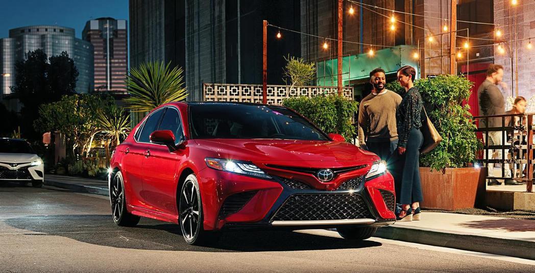 美規Toyota Camry。 摘自Toyota U.S.A