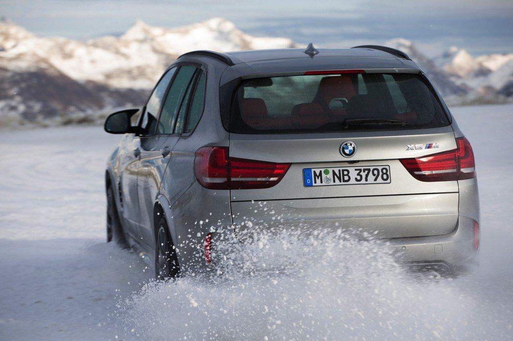 圖為現行版BMW X5 M。 摘自BMW