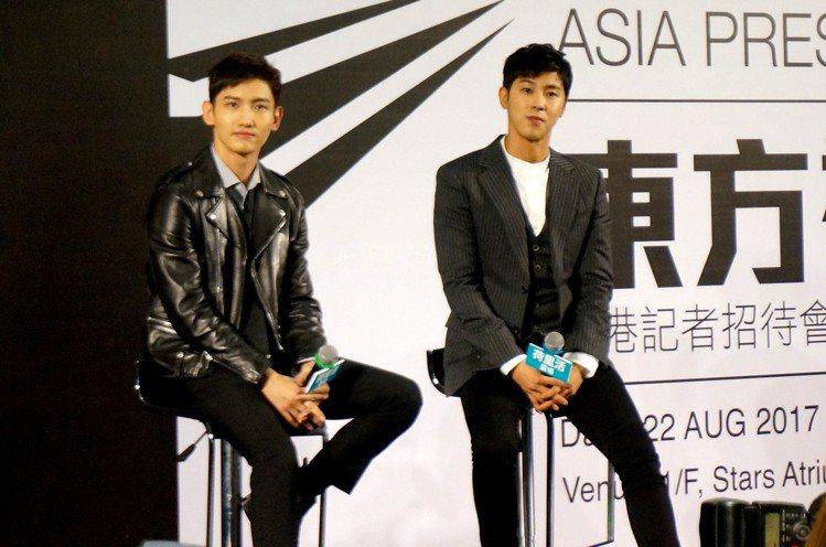 (左)沈昌珉。圖/愛貝克思提供