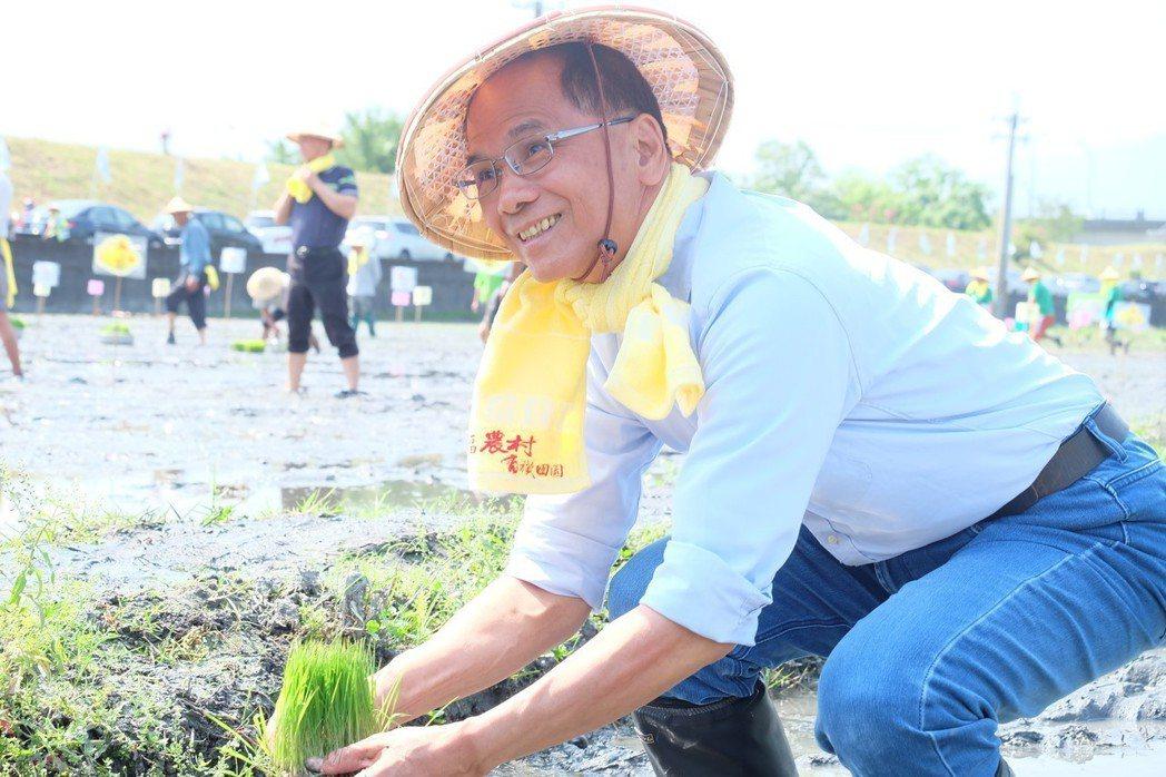 四天王中最年輕的游錫堃,最近一次新北市選舉差點讓藍營翻盤。 圖/聯合報系資料照片