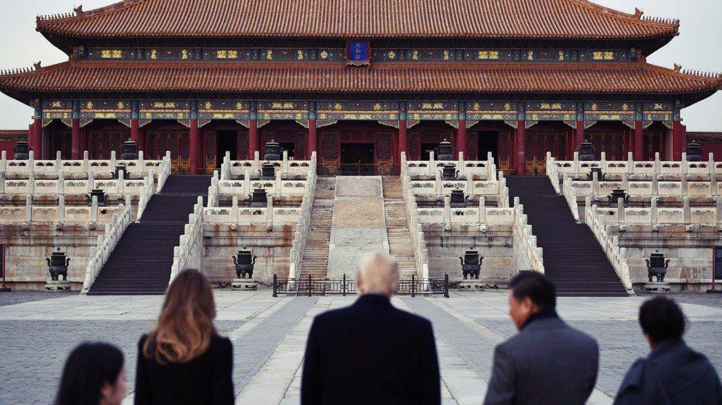 北京口中雖說不想稱霸世界,但其國際政策早已經溢出了東亞區域。 圖/法新社