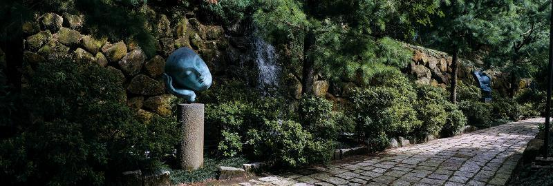 李光裕歷時十多年,用心打造一座台灣的藝術家園。