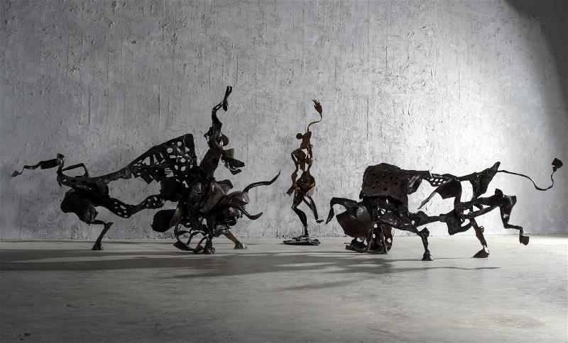第57屆威尼斯雙年展中,李光裕《鬥牛》系列作品,獲得世界級的肯定。