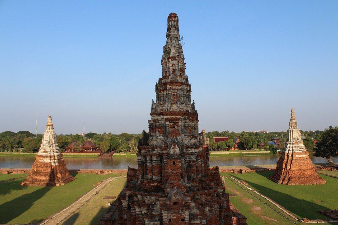 ▲泰國大城柴瓦塔那蘭寺。(圖/攝影者:napalai sangboon, Fli...