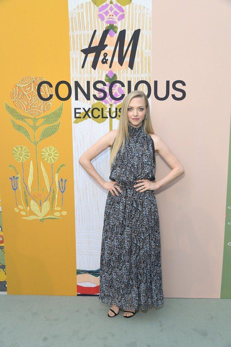 演員Amanda Seyfried出席H&M Conscious Exclusi...