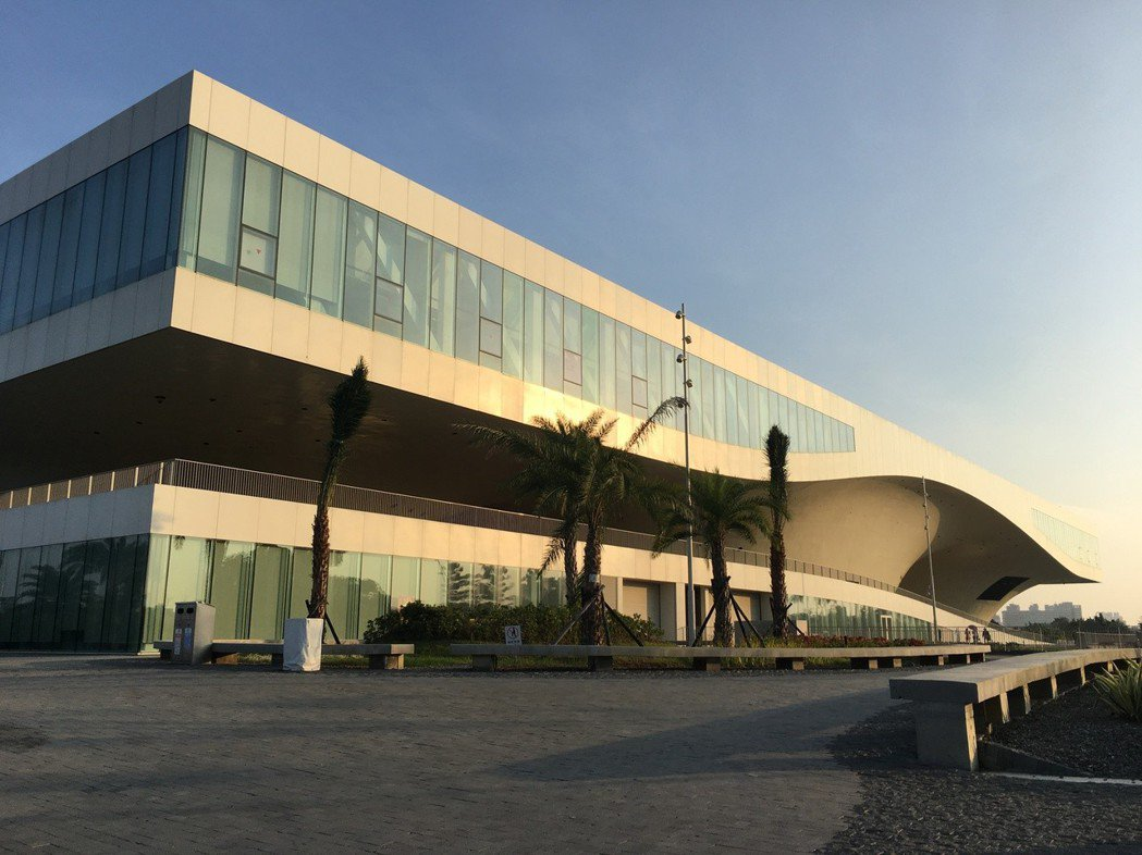 高雄衛武營藝文中心今年10月開幕。記者何定照/攝影