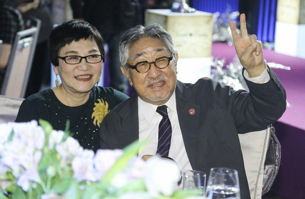 張小燕(左)和孫越(右)是多年好友。圖/聯合報系資料照