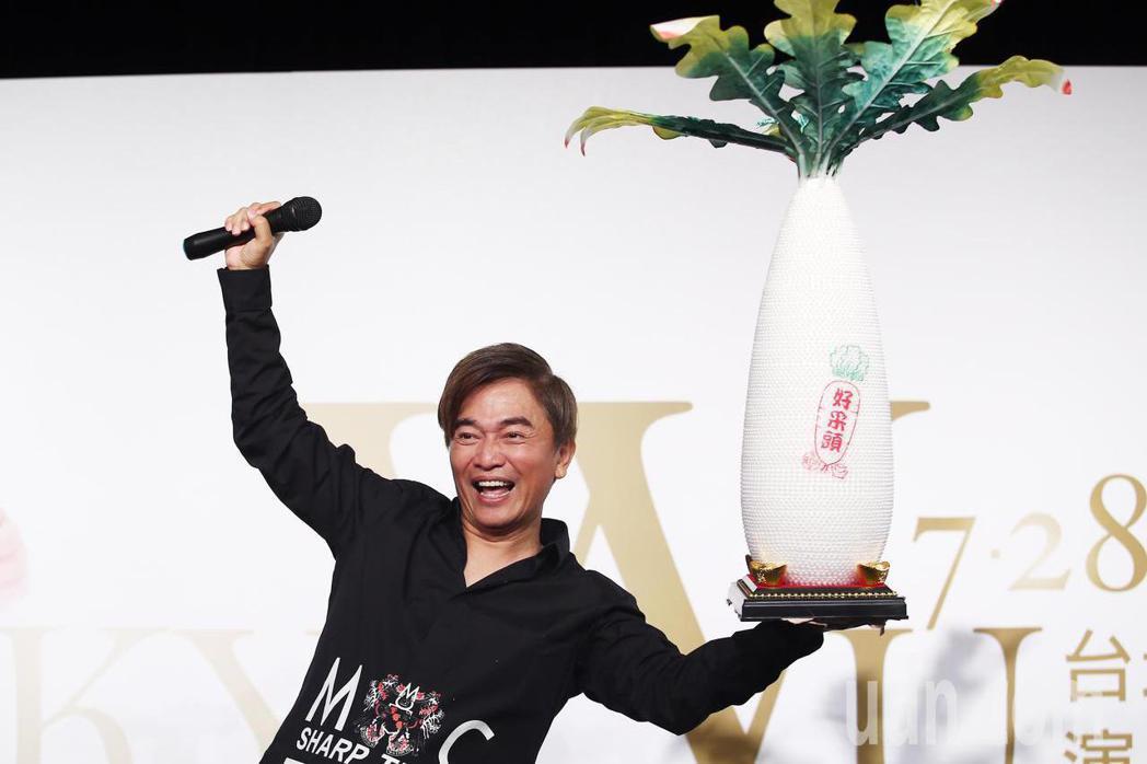 吳宗憲即將在七月份於台北小巨蛋開演唱會。記者杜建重/攝影