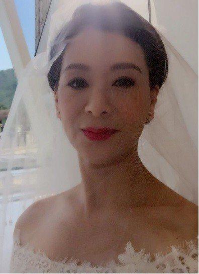 夏文汐近來復出拍港劇,頗為受到矚目。圖/摘自微博