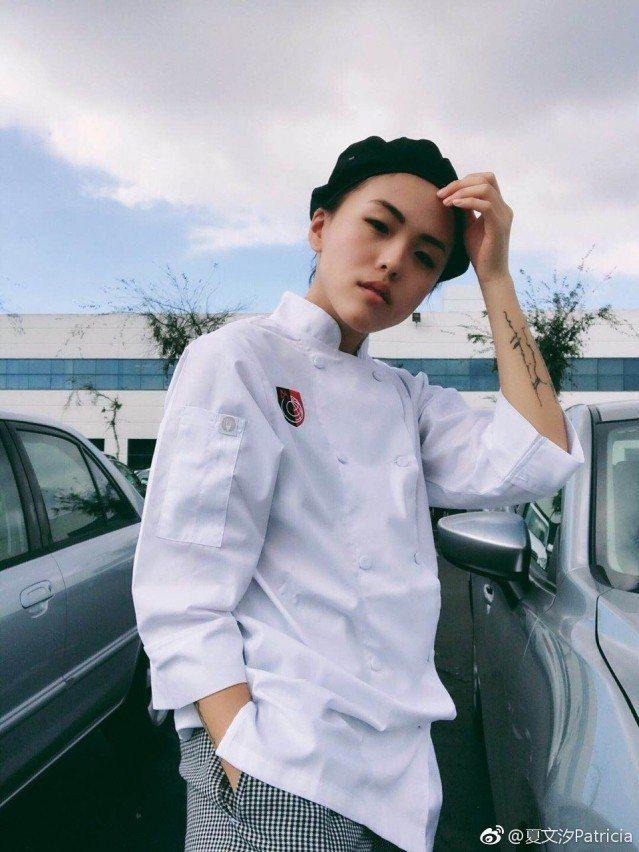 夏文汐的大女兒在學廚藝,有意進軍餐飲業。圖/摘自微博