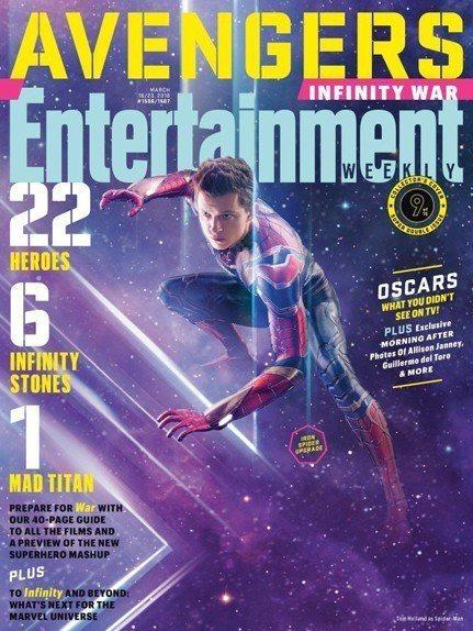 蜘蛛人在「復仇者聯盟3:無限之戰」是少數存活機率高的英雄。圖/摘自EW