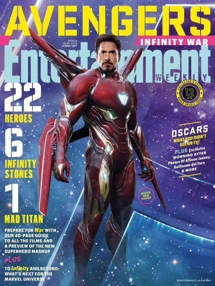 鋼鐵人在「復仇者聯盟3:無限之戰」仍有相當重要的地位。圖/摘自EW