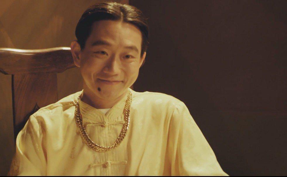 陳家逵在「台北歌手」中飾演色瞇瞇的土財主。圖/客台提供