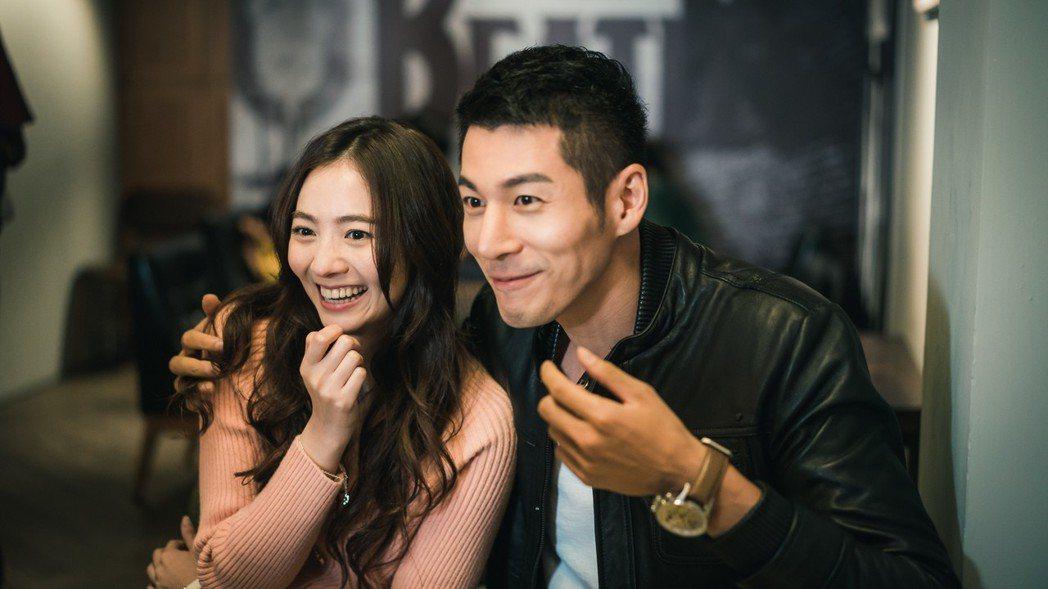 郭鑫(右)與謝沛恩飾演新婚夫妻。圖/歐銻銻娛樂提供