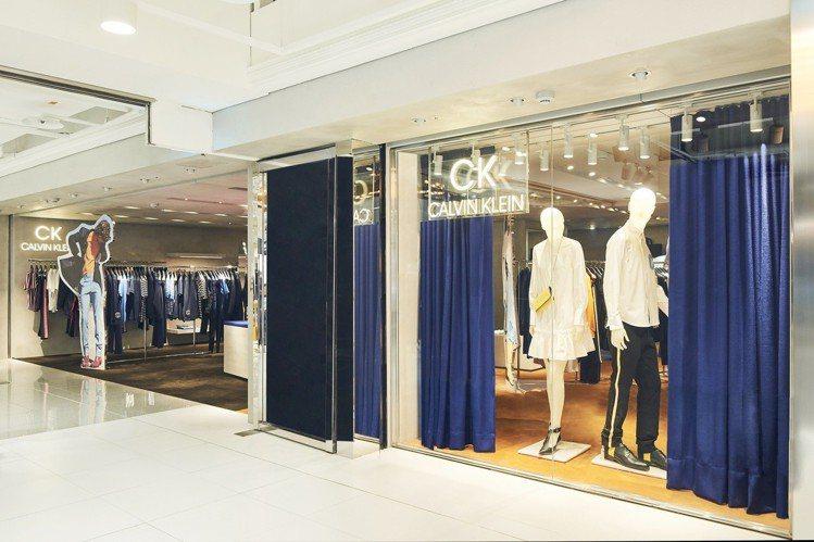 CK CALVIN KLEIN在高雄漢神百貨打造全新概念店。圖/CK CALVI...