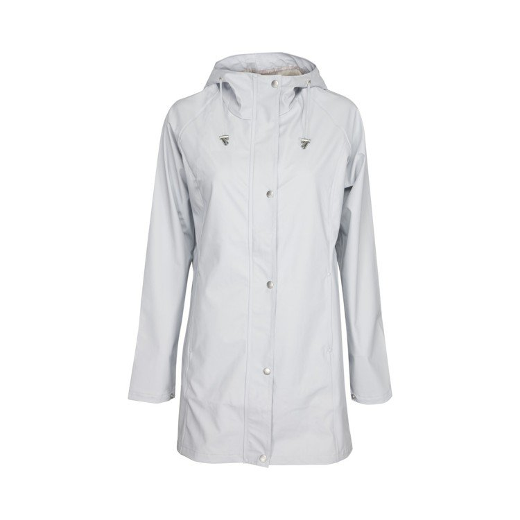 ILSE JACOBSEN藍白色防水雨衣,售價6,980元。圖/ILSE JAC...