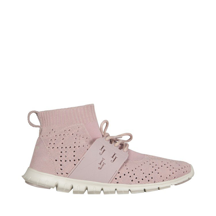 ILSE JACOBSEN輕量高筒粉紅色運動鞋,售價4,280元。圖/ILSE ...