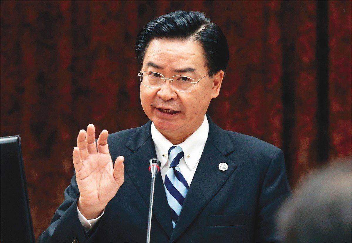 外交部長吳釗燮。 聯合報系資料照