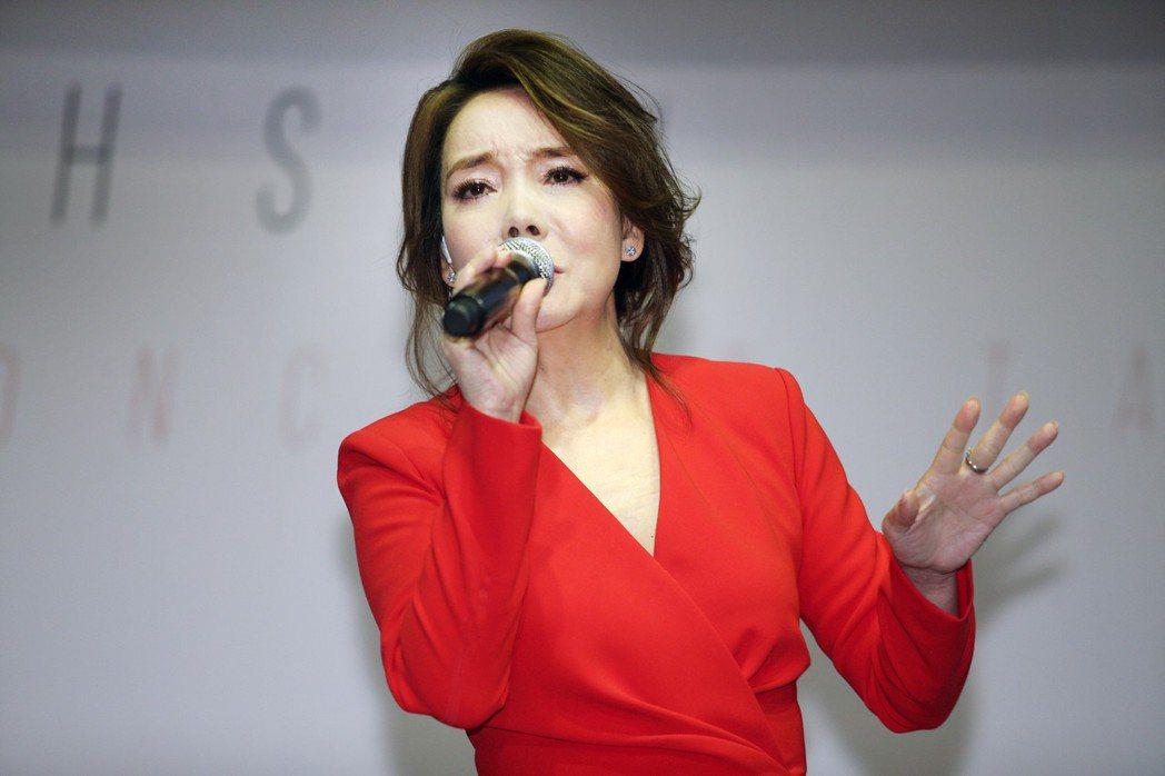 辛曉琪攻蛋舉辦個人演唱會。記者陳正興/攝影