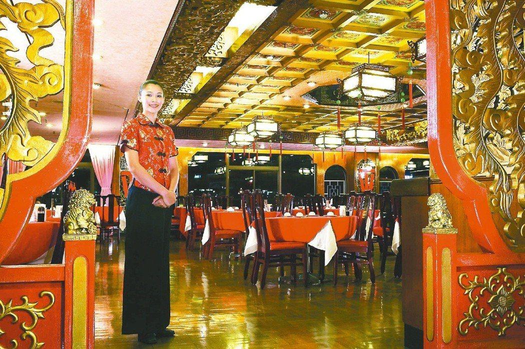 六福客棧金鳳廳是台北市數一數二的港式點心餐廳。六福客棧/ 提供